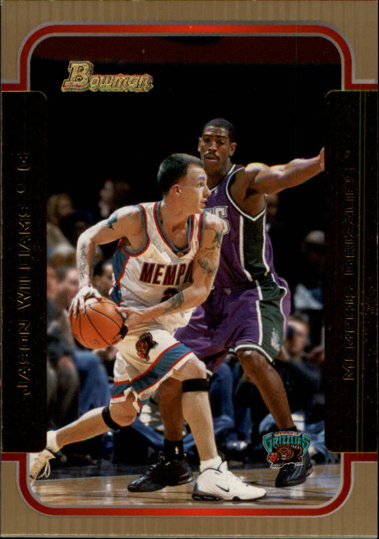 2003-04 Bowman Gold #103 Jason Williams