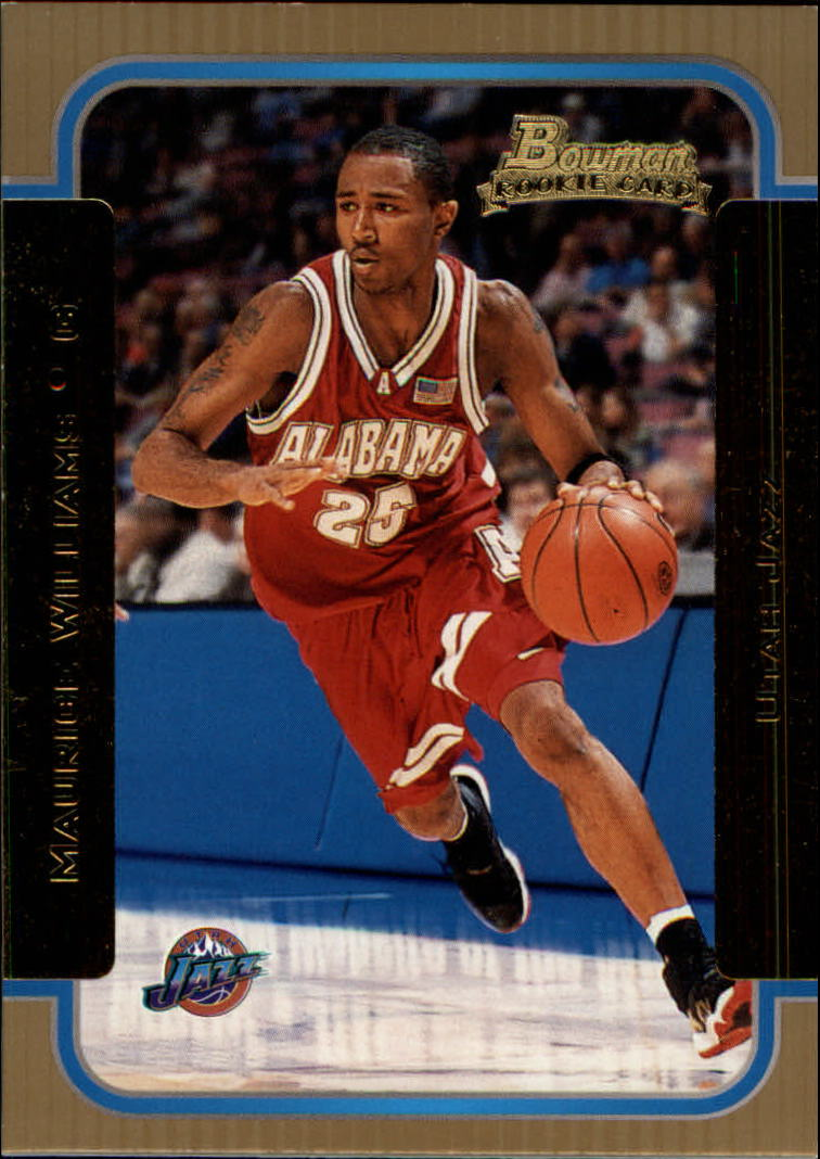 2003-04 Bowman Gold #117 Maurice Williams