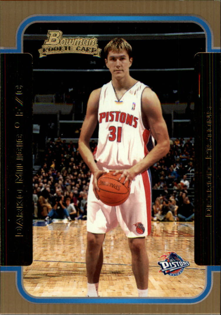 2003-04 Bowman Gold #130 Darko Milicic
