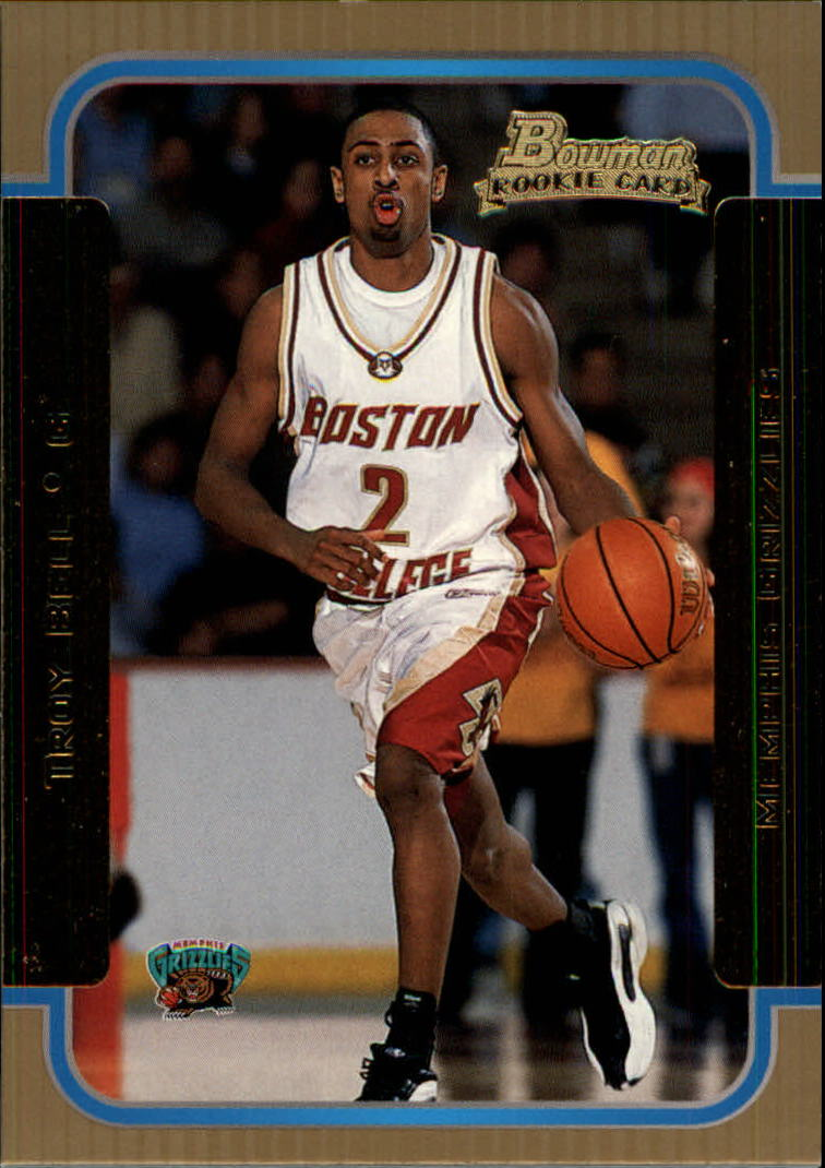 2003-04 Bowman Gold #131 Troy Bell