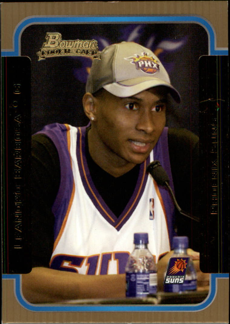 2003-04 Bowman Gold #135 Leandro Barbosa