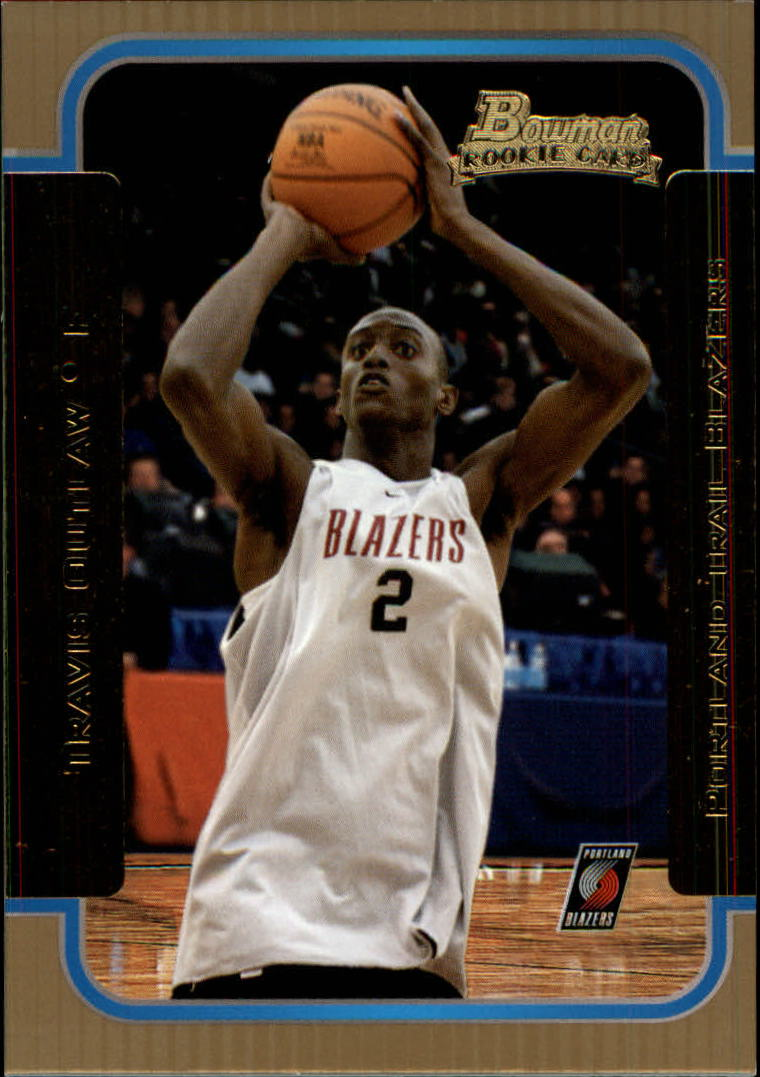 2003-04 Bowman Gold #143 Travis Outlaw