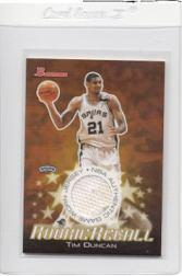 2003-04 Bowman Rookie Recalls #RRETD Tim Duncan