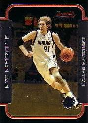 2003-04 Bowman Chrome #20 Dirk Nowitzki