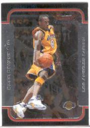 2003-04 Bowman Chrome #100 Kobe Bryant
