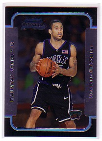 2003-04 Bowman Chrome #115 Dahntay Jones RC