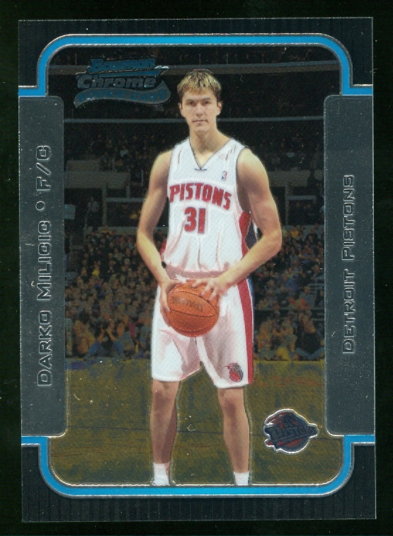 2003-04 Bowman Chrome #130 Darko Milicic RC