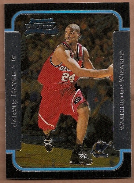 2003-04 Bowman Chrome #134 Jarvis Hayes RC