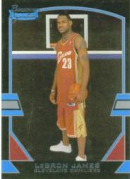 2003-04 Bowman Signature Edition #56 LeBron James RC