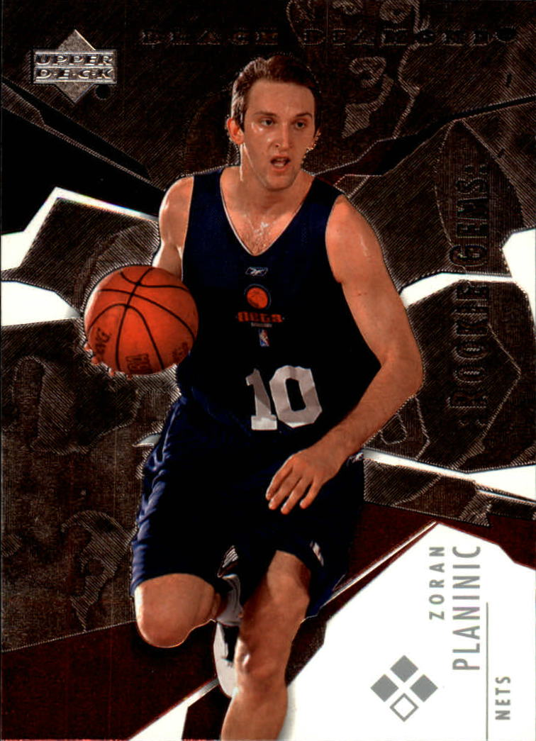 2003-04 Black Diamond #157 Zoran Planinic RC