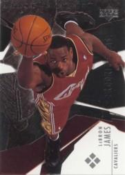 2003-04 Black Diamond #184 LeBron James RC