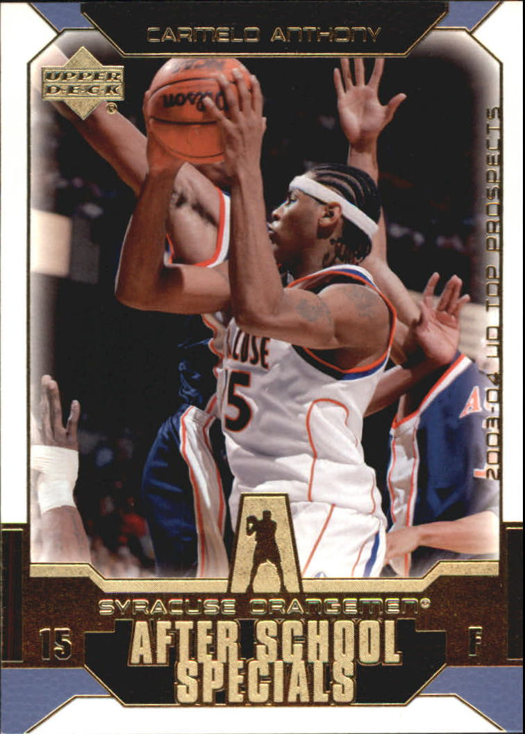 2003-04 UD Top Prospects After School Specials #AS3 Carmelo Anthony