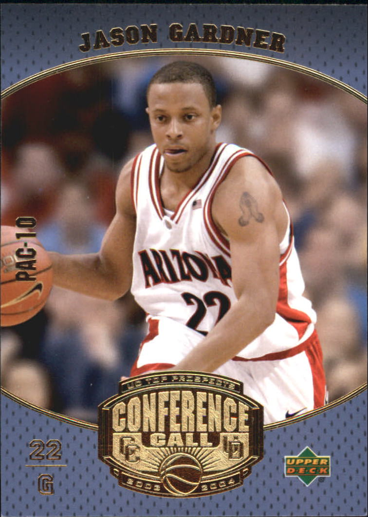 2003-04 UD Top Prospects Conference Call #CC9 Jason Gardner