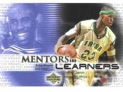 2003-04 UD Top Prospects Mentors and Learners #ML5 Kobe Byrant/LeBron James