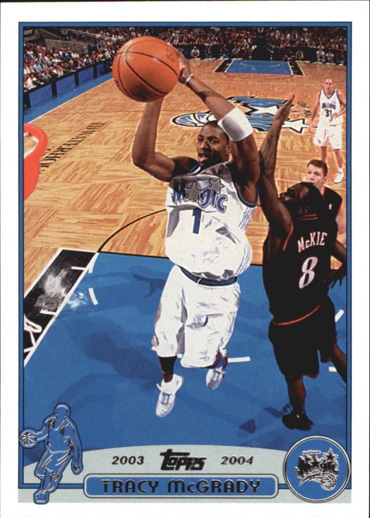 2003-04 Topps Promos #PP2 Tracy McGrady