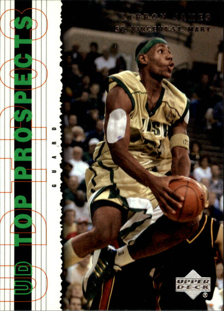2003-04 UD Top Prospects #3 LeBron James