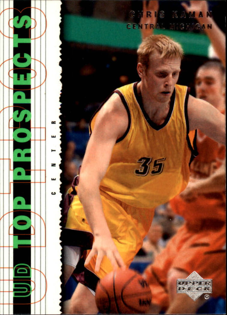 2003-04 UD Top Prospects #11 Chris Kaman
