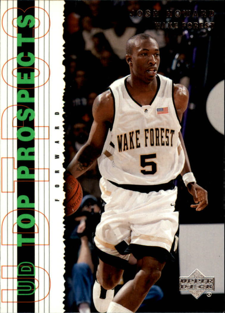 2003-04 UD Top Prospects #25 Josh Howard