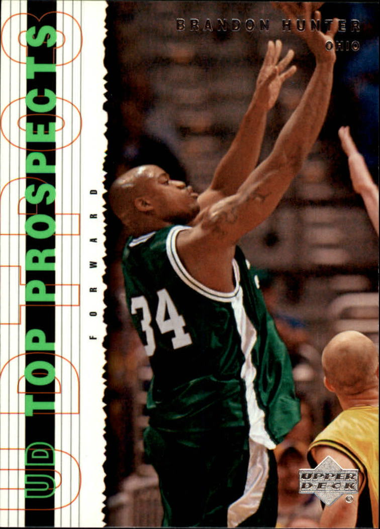 2003-04 UD Top Prospects #28 Brandon Hunter