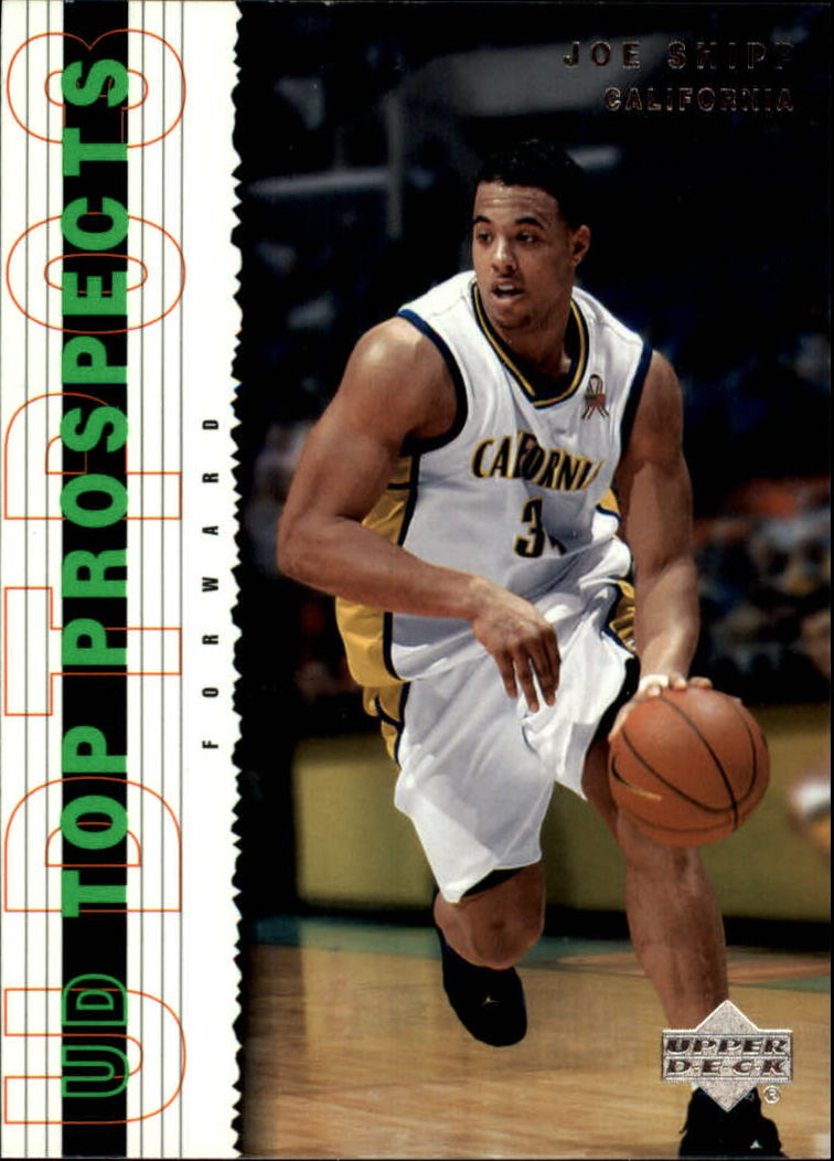 2003-04 UD Top Prospects #29 Joe Shipp
