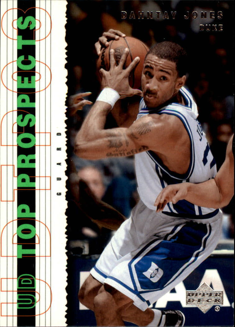 2003-04 UD Top Prospects #35 Dahntay Jones