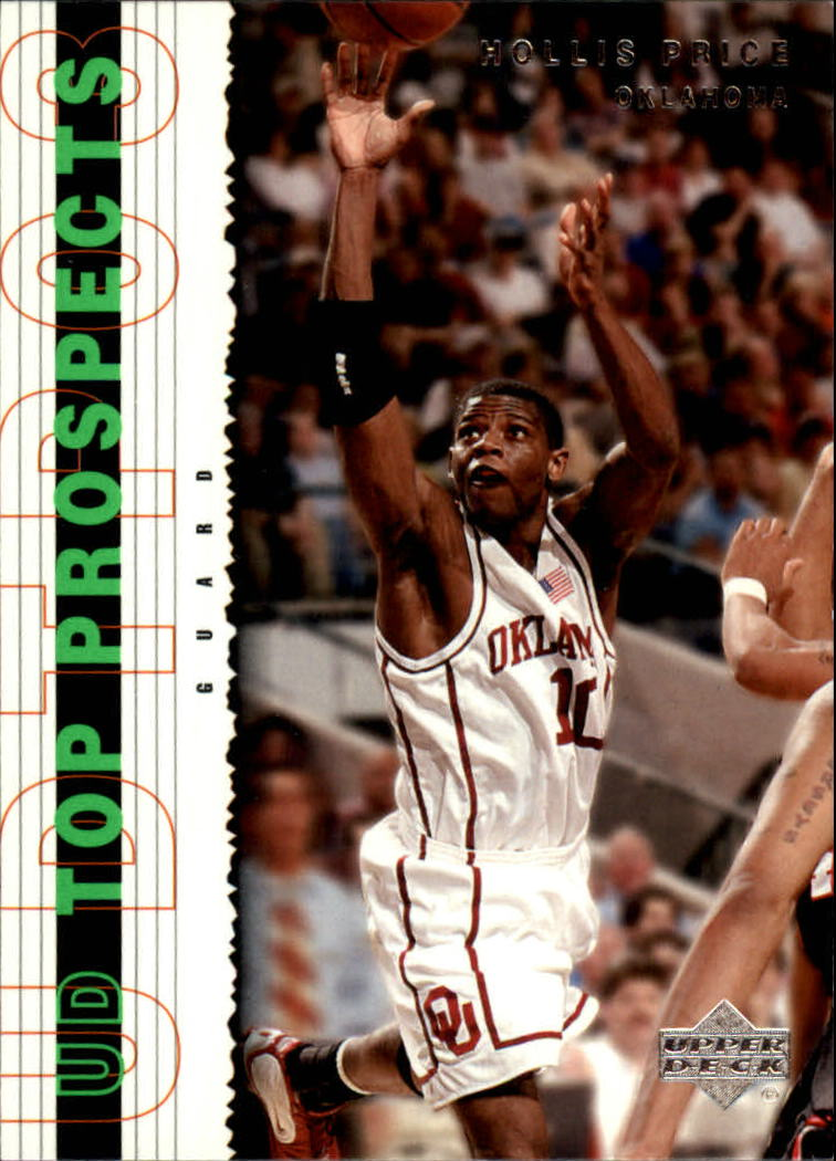 2003-04 UD Top Prospects #50 Hollis Price
