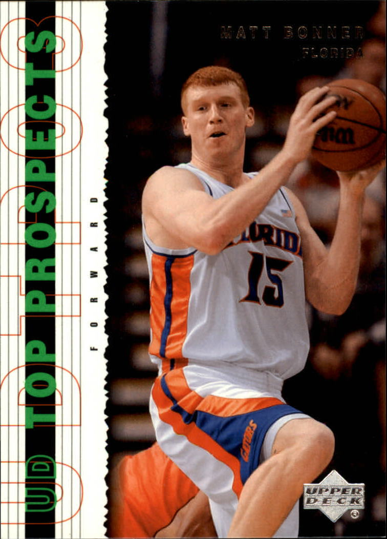 2003-04 UD Top Prospects #52 Matt Bonner