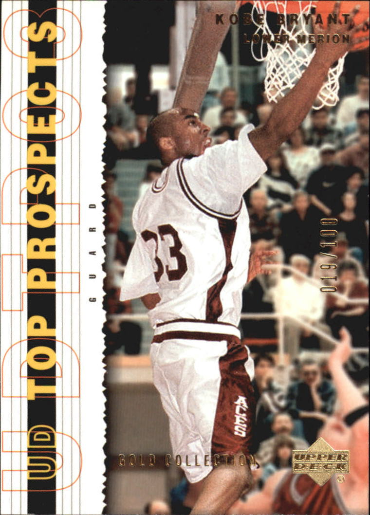2003-04 UD Top Prospects Gold Collection #2 Kobe Bryant
