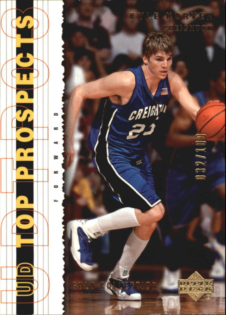 2003-04 UD Top Prospects Gold Collection #30 Kyle Korver