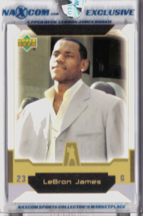 2004 Upper Deck Naxcom LeBron James #NNO LeBron James