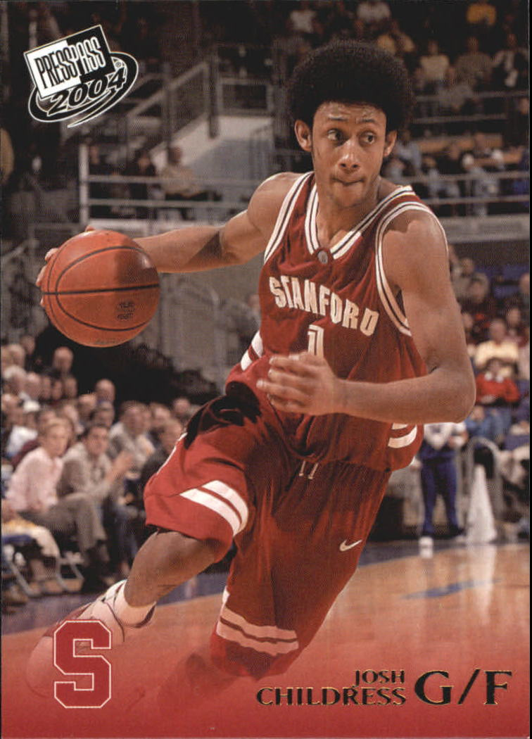 2004 Press Pass Gold #7 Josh Childress