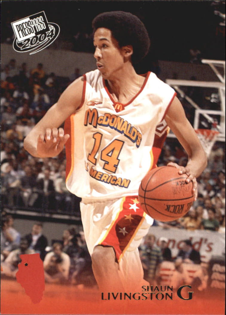 2004 Press Pass Gold #18 Shaun Livingston