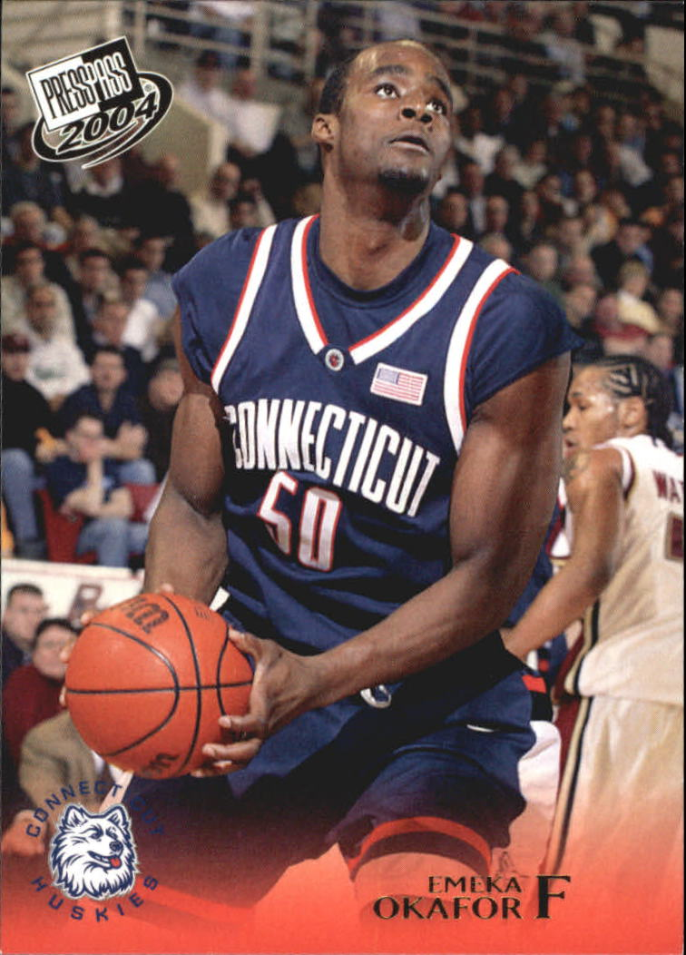 2004 Press Pass Gold #20 Emeka Okafor
