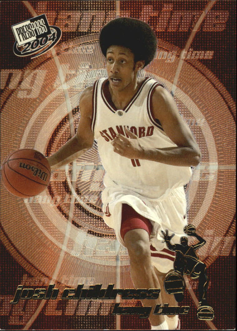 2004 Press Pass Hang Time #7 Josh Childress