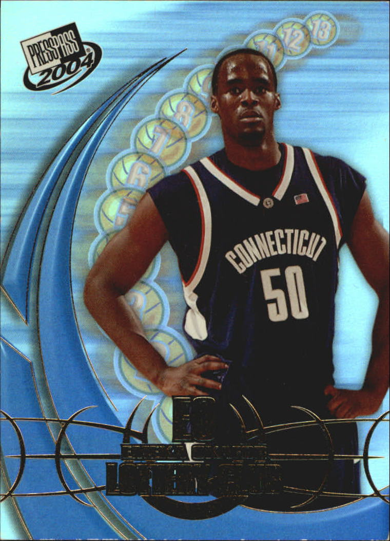 2004 Press Pass Lottery Club #2 Emeka Okafor