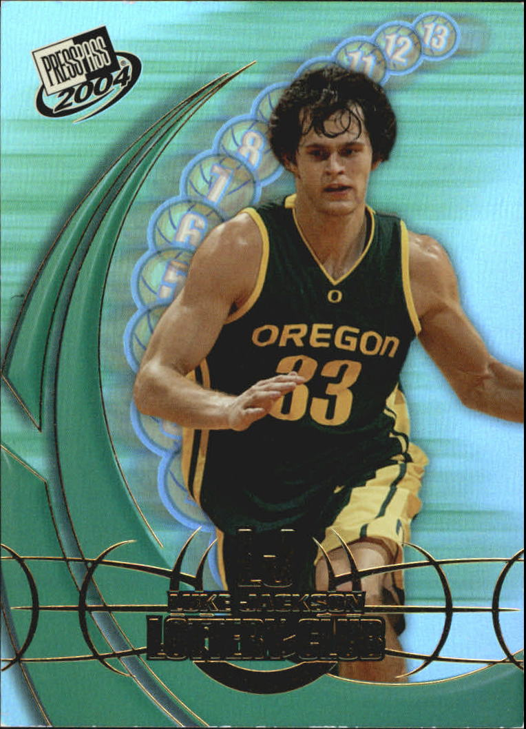 2004 Press Pass Lottery Club #11 Luke Jackson