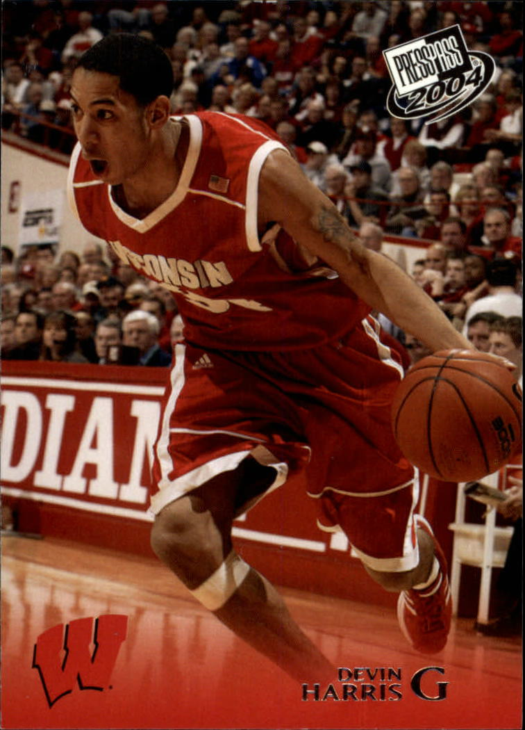 2004 Press Pass #14 Devin Harris