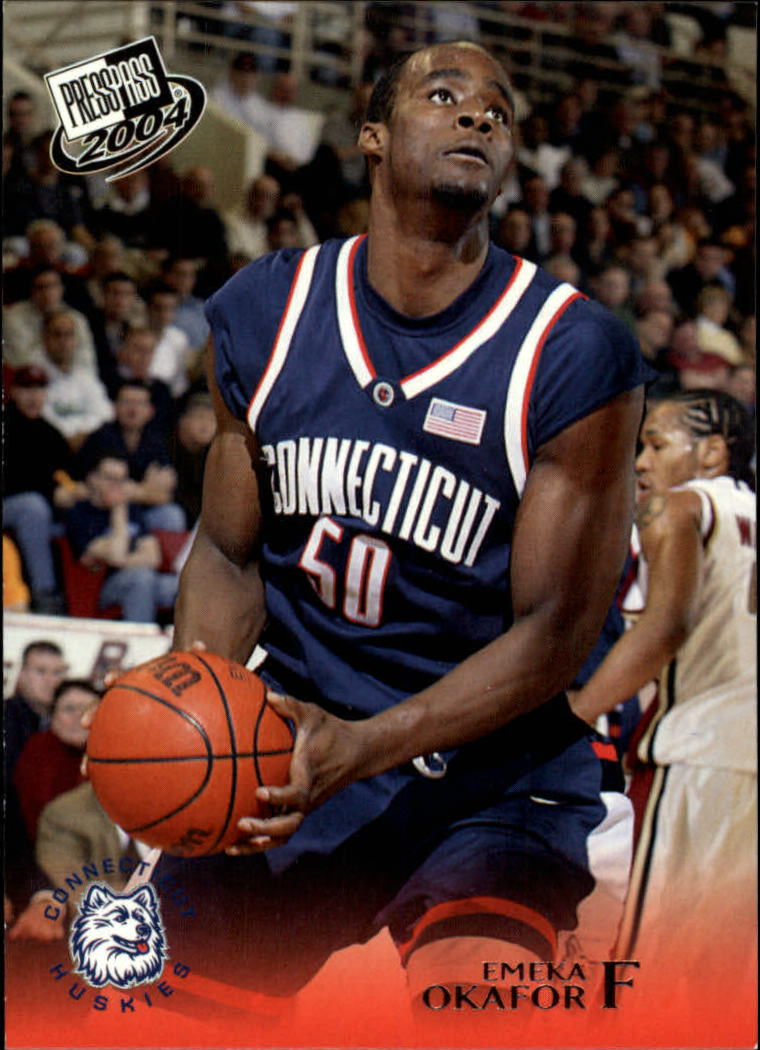 2004 Press Pass #20 Emeka Okafor