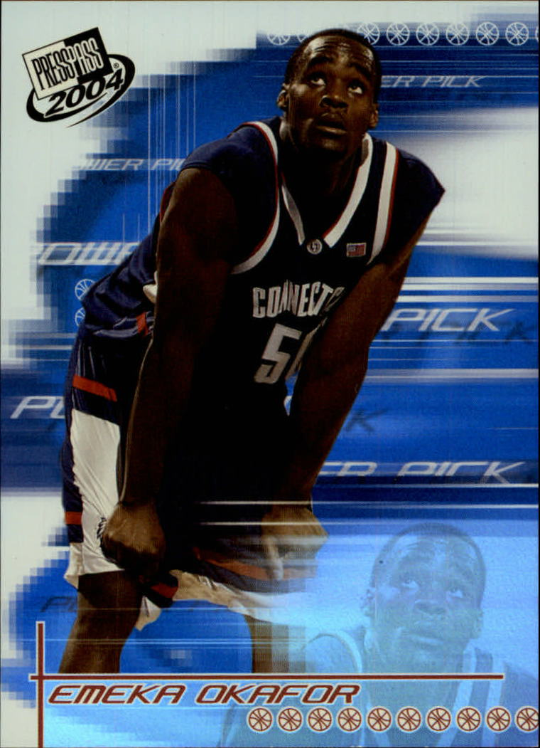2004 Press Pass #34 Emeka Okafor