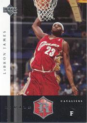 2004-05 Upper Deck Rivals Box Set #5 LeBron James
