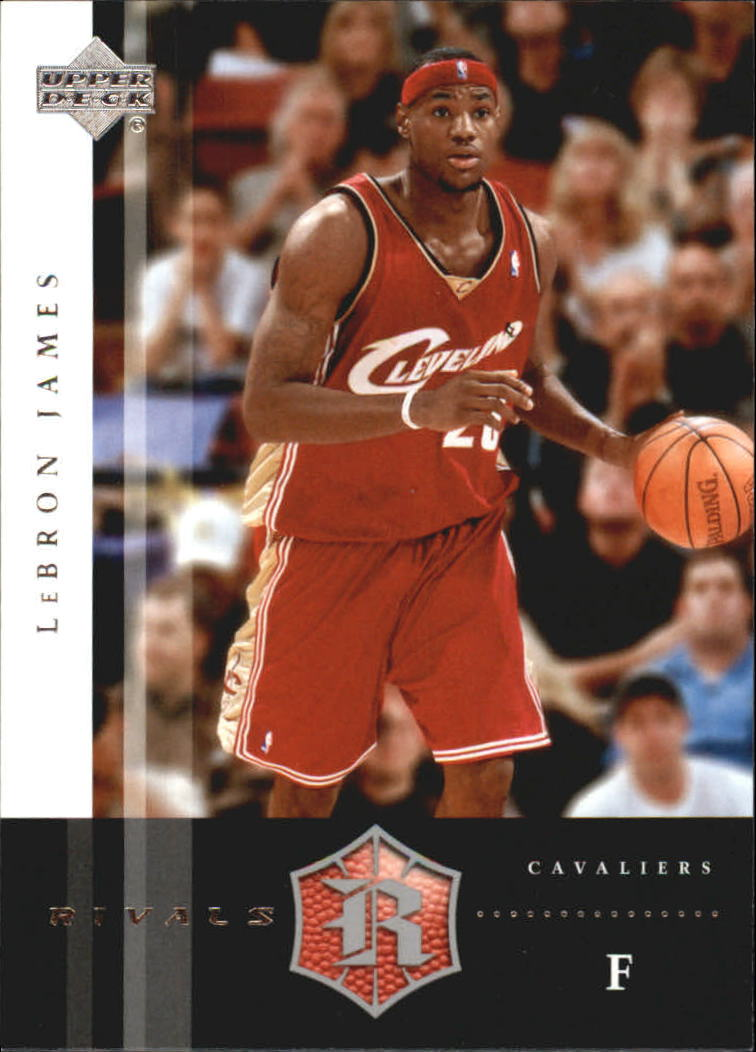 2004-05 Upper Deck Rivals Box Set #6 LeBron James