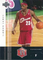 2004-05 Upper Deck Rivals Box Set #7 LeBron James