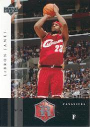 2004-05 Upper Deck Rivals Box Set #8 LeBron James