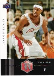 2004-05 Upper Deck Rivals Box Set #11 LeBron James