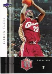 2004-05 Upper Deck Rivals Box Set #12 LeBron James