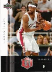 2004-05 Upper Deck Rivals Box Set #13 LeBron James