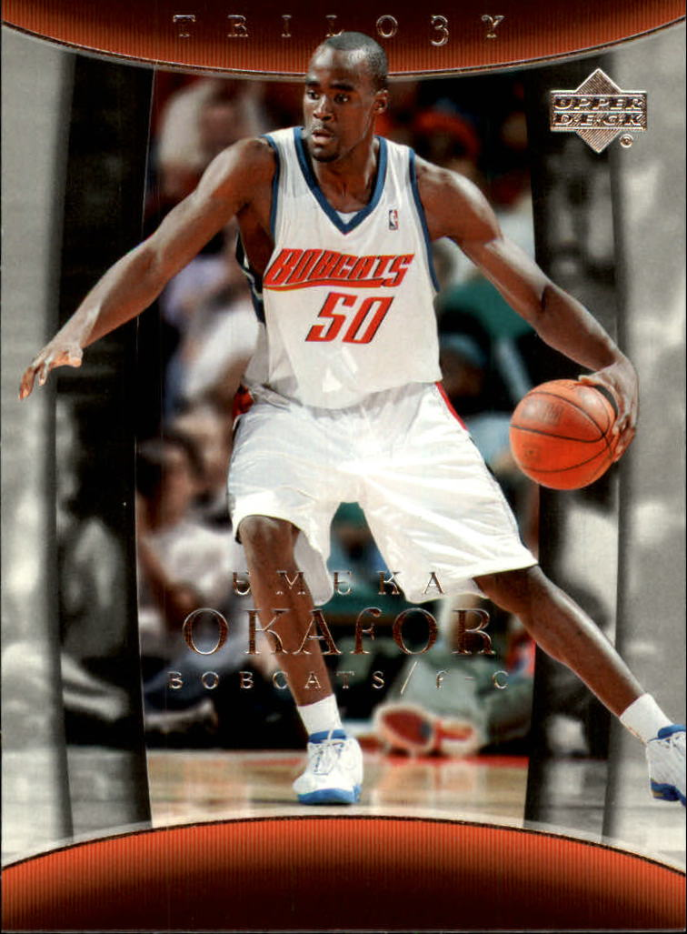 2004-05 Upper Deck Trilogy #8 Emeka Okafor RC