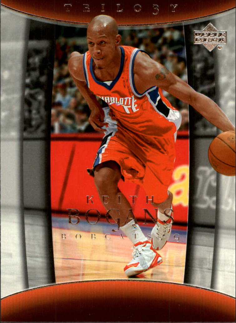 2004-05 Upper Deck Trilogy #9 Keith Bogans