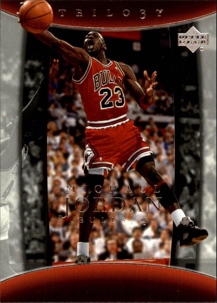 2004-05 Upper Deck Trilogy #12 Michael Jordan