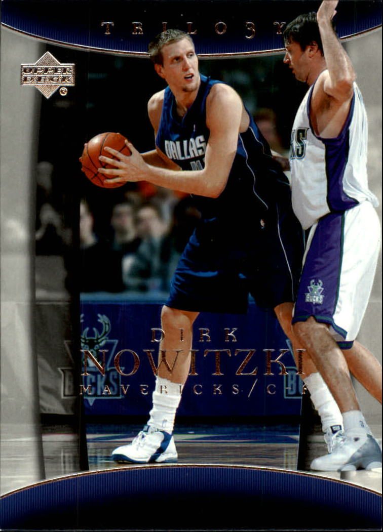 2004-05 Upper Deck Trilogy #17 Dirk Nowitzki